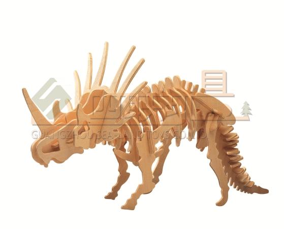 简单恐龙剪纸步骤如下